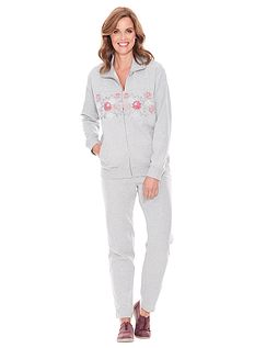 Ladies Floral Print Leisuresuit