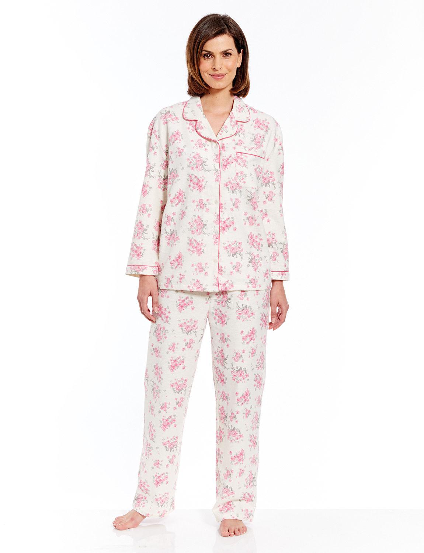 6129486141 Winceyette Pyjamas - Ladieswear Nightwear