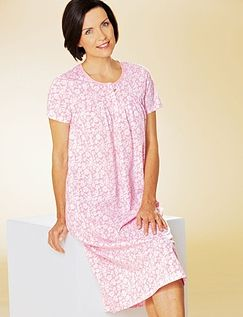 PRINTED JERSEY NIGHTDRESS