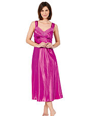 Luxury Satin And Lace Nightdress