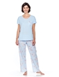 Woven and Jersey Pyjama