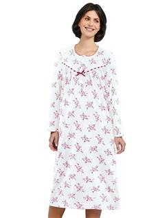 Long Sleeve Cotton Nightdress