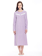 Eva Spot Fleece Nightdress