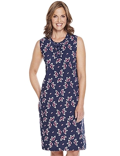 Pack of 2 Sleeveless Nightdresses