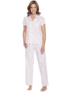 Woven Floral Print Pyjama