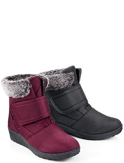 Ladies Cushion-Walk Touch and Close Thermal Lined Boot