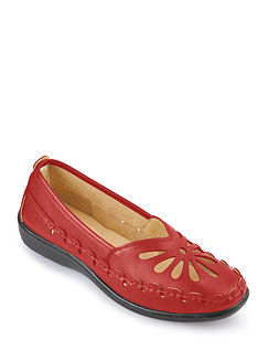 Palma Ladies Flexible Slip On Shoe
