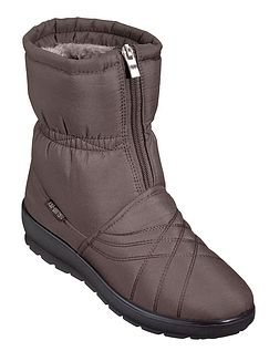 Ladies Cushion-walk Zip Opening Thermal Lined Boot