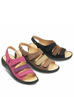 LADIES FULLY OPENING TOUCH AND CLOSE SANDAL