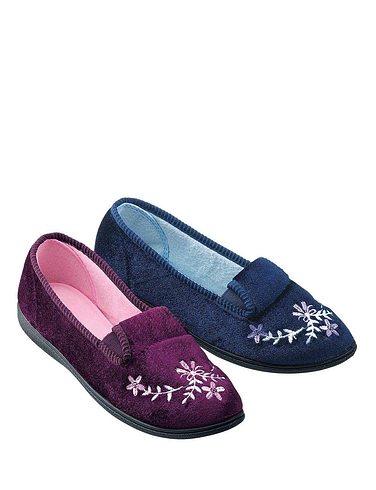 LADIES LUCKY DIP SLIPPER