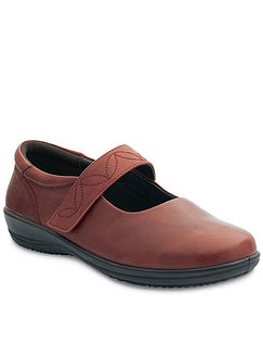 Padders Tempo Wide Fitting Leather Shoe