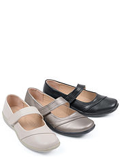 Ladies Lightweight Touch Fastening Shoe