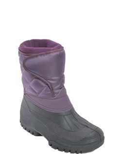 Cushion Walk Boot With Waterproof Base