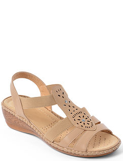 Cushion Walk Wedge Sandal
