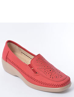 Ladies Wedge Slip On