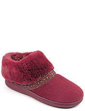 Thermal Lined Bootee Slipper