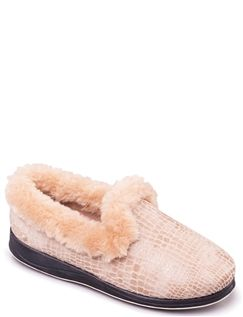 Padders EE Fit Luxury Slipper