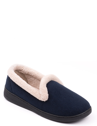 74ba65e3196a Velour Fleece Lined Slippers. Double tap to zoom