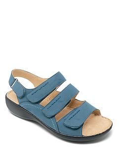Cushion Walk Four Strap Sandals