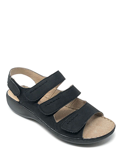 Cushion Walk Four Strap Sandals