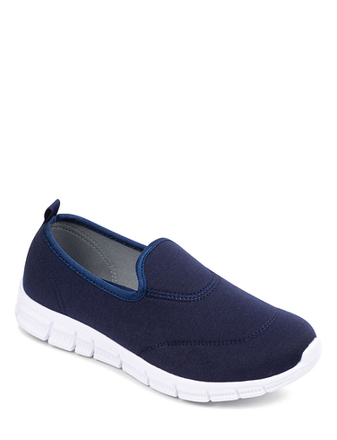 Ladies Ultra-Lightweight Slip-On Shoe