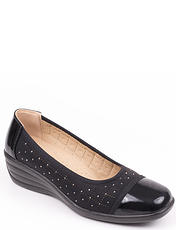 Slip On Shoe Diamante Patent Trim