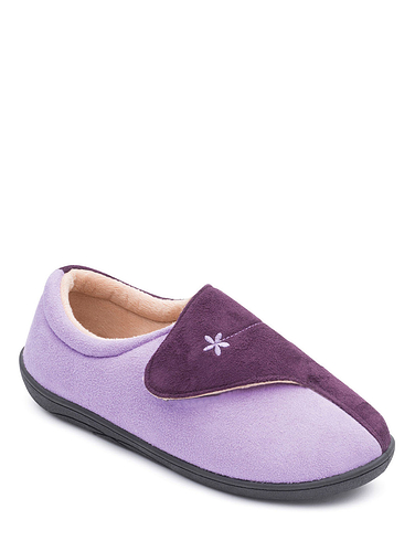 Padders Wide Fit Slipper