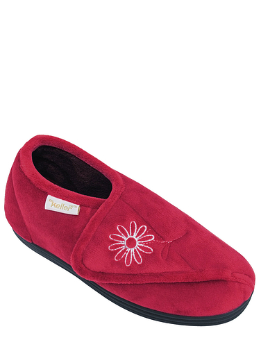 Dr Keller Wide Fit Slipper
