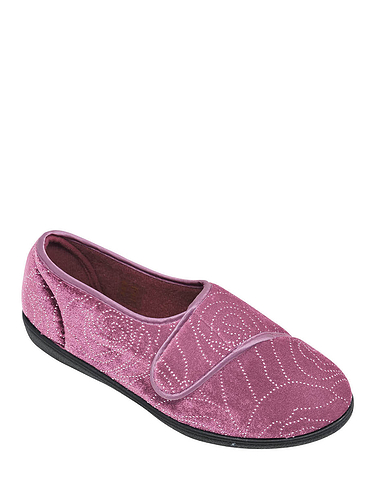 Velour Slipper
