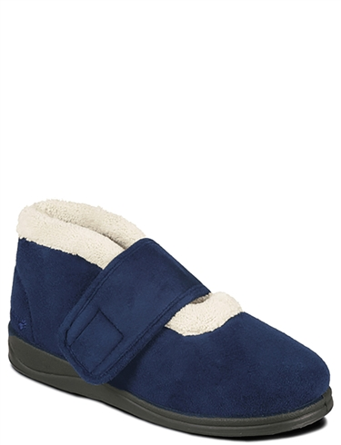 Ladies Padders Wide Fit Boot Slipper