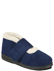 Padders Silent Wide Ee Fit  Boot Slipper