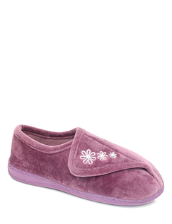 Dr Keller Wide Fit Sturdy Sole Slipper