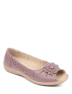 Open Toe Slip On Sandal