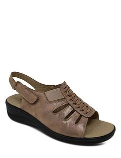 Ladies Sunburst Sandal
