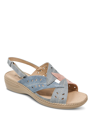 Ladies Cushion Walk Leaf Sandal