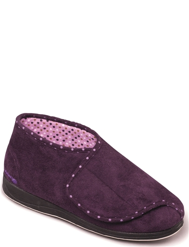 Padders Cherish  Wide Fit Slipper