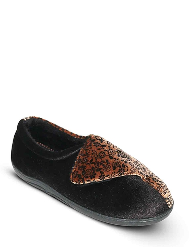 Padders Wide Fit EE Slipper