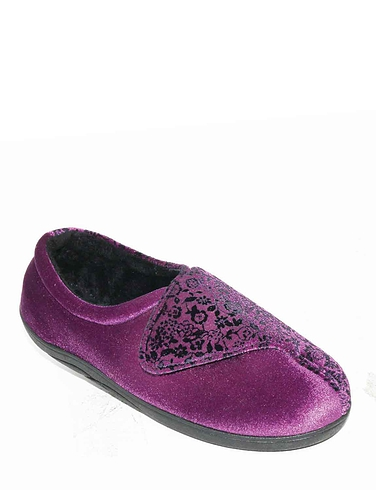 Ladies Padders EE Wide Fit Slipper