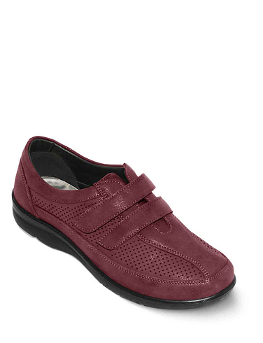 Ladies Cushionwalk Touch And Close Leisure Shoe