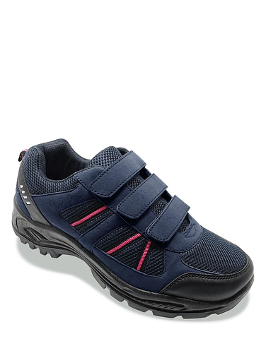 Ladies Wide Fit Hiker Shoe