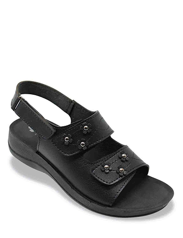 Ladies Twin Opening Sandal