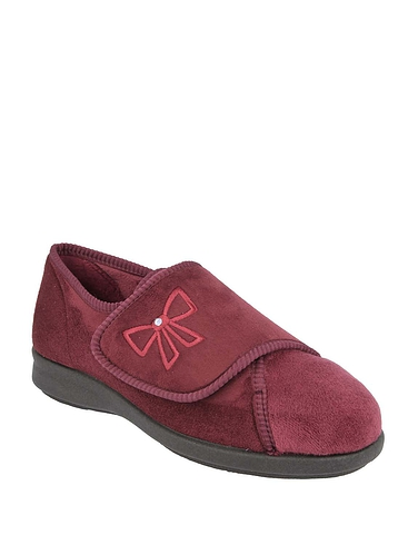 Ladies DB Shoes Keeston Wide Fit Slipper EE-4E