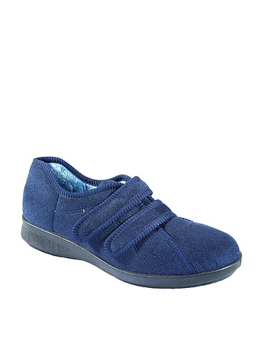 Ladies DB Shoes Eunice Wide Fit Slipper  6E-8E