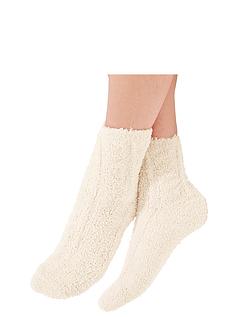 Pack Of 2 Bed Socks