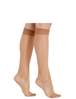 Pack Of 3 Knee High Tights.