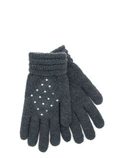 Diamante Trim Gloves