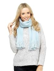 Ladies Soft Scarf with Metalic Thread