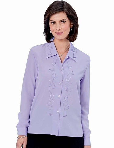 Embroiderd Blouse
