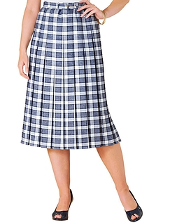 27 Inch Pleated Skirt