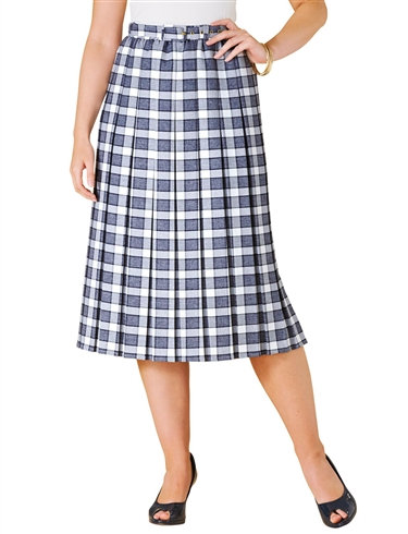 Pleated Skirt Length 25 Inches